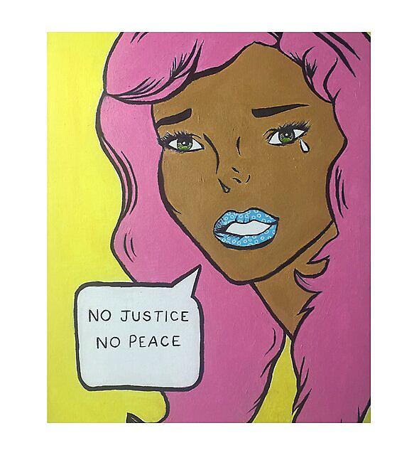 RedBubble: black lives matter pop art