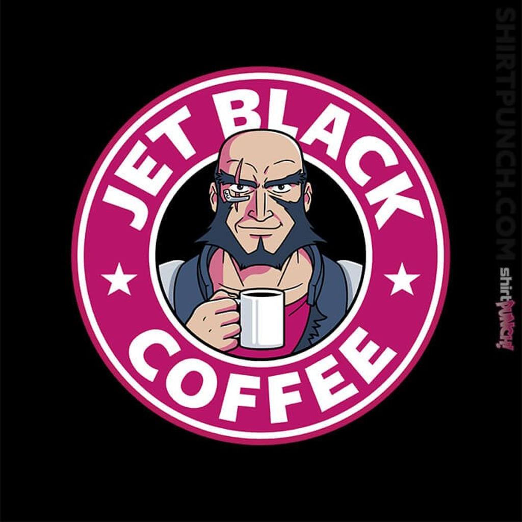 ShirtPunch: Jet Black Coffee