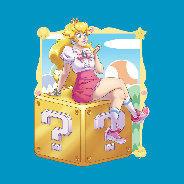 TeePublic: Peachy!
