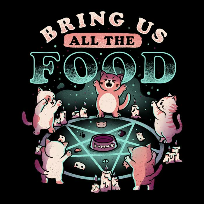 Once Upon a Tee: Bring All the Food