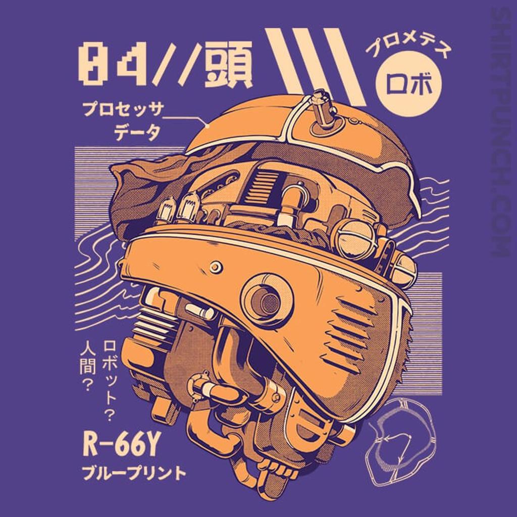 ShirtPunch: Robo Head