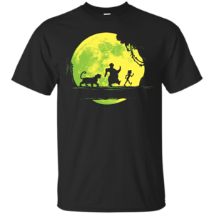 Pop-Up Tee: Jungle Moonwalk