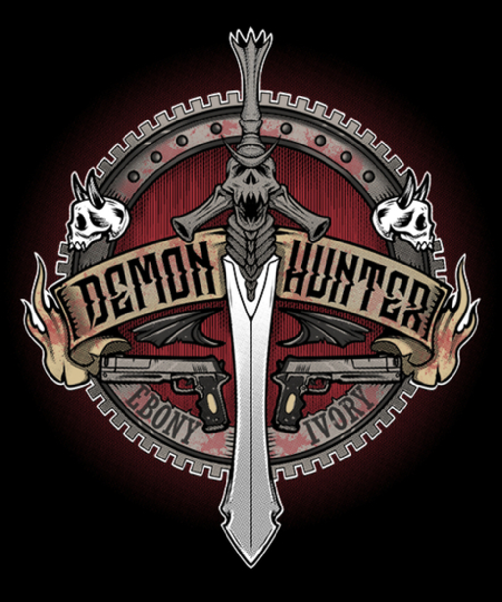 Qwertee: Demon Hunter