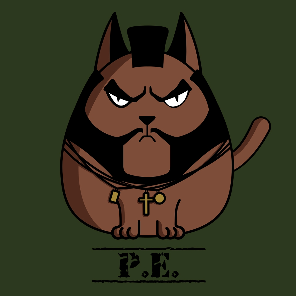 TeeTournament: P.E. the Cat