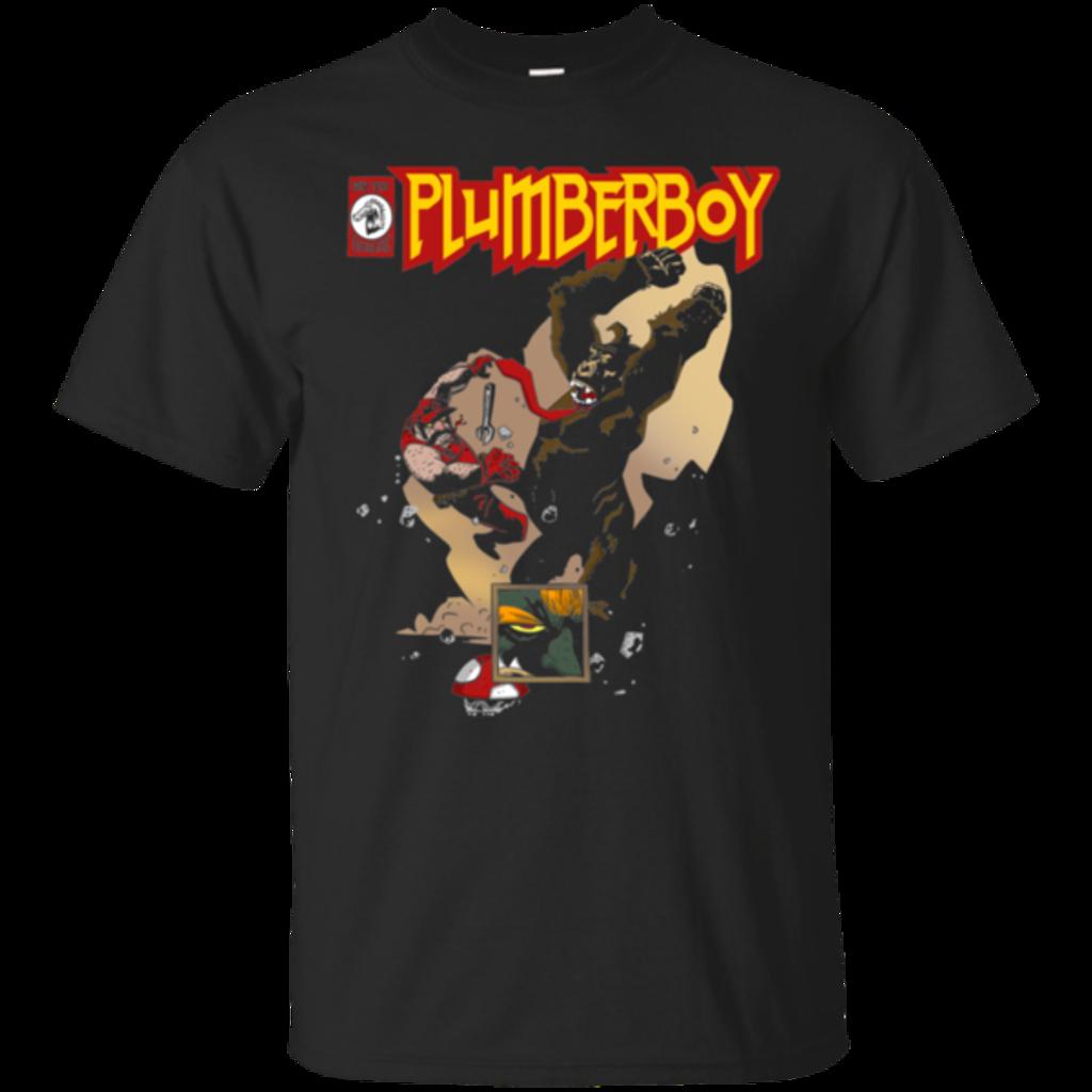 Pop-Up Tee: Plumberboy