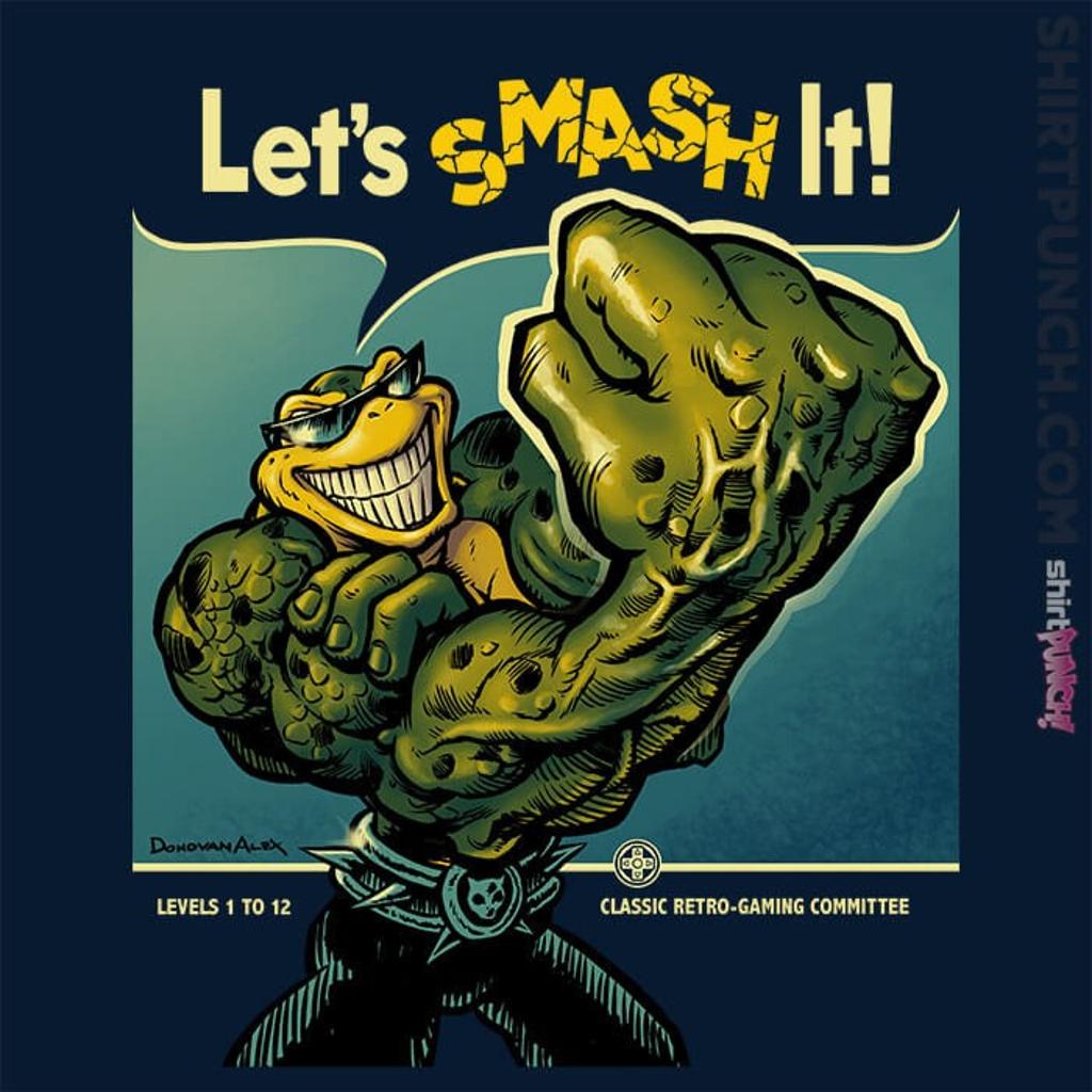 ShirtPunch: Rash Can Smash