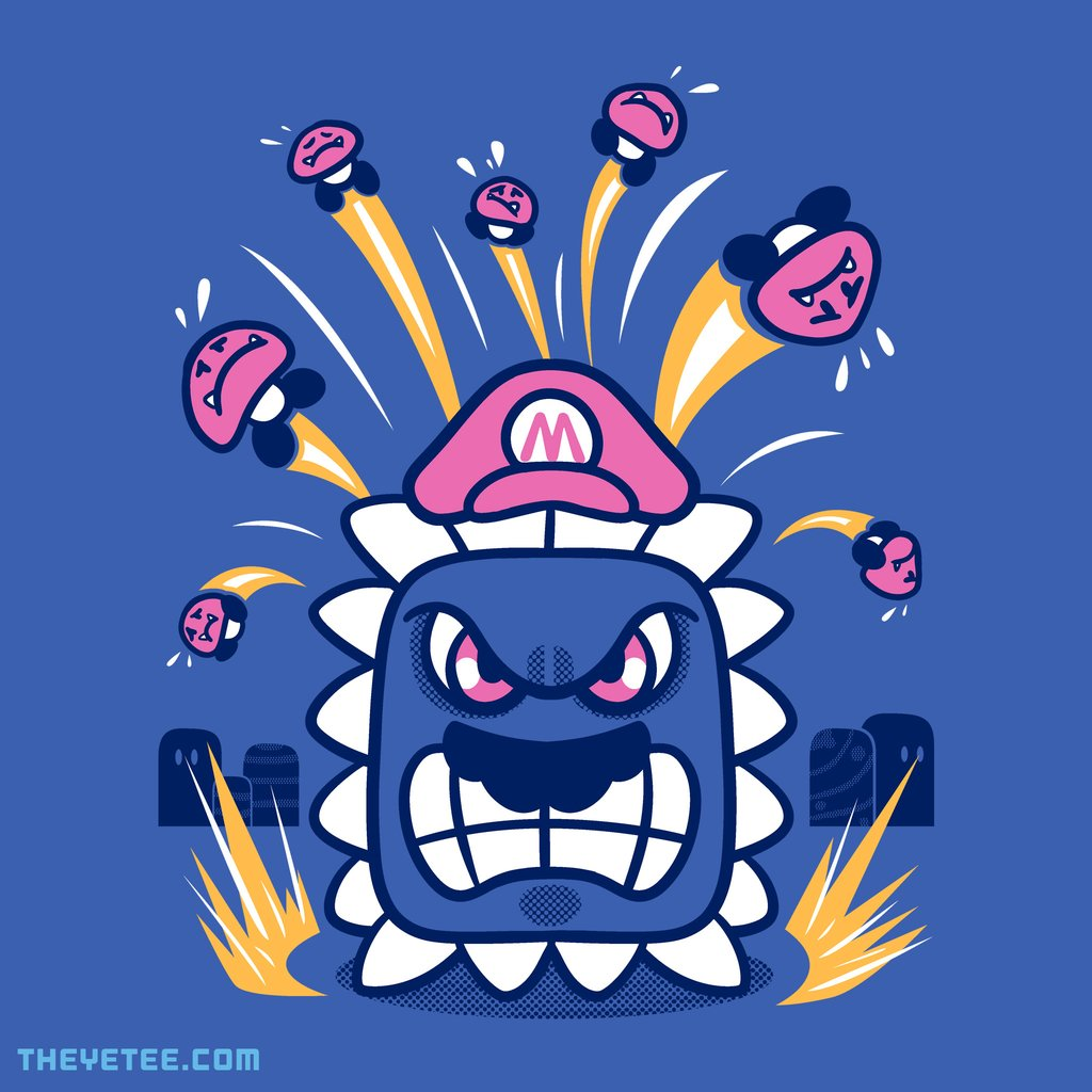 The Yetee: Plumber Smash by Jaime Ugarte