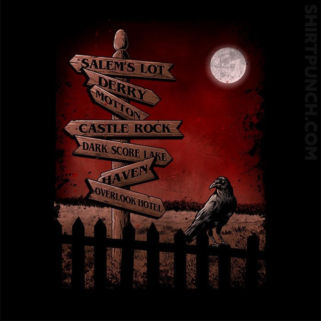 ShirtPunch: Horror Crossroads