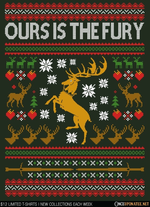 Once Upon a Tee: Ours is the Holiday