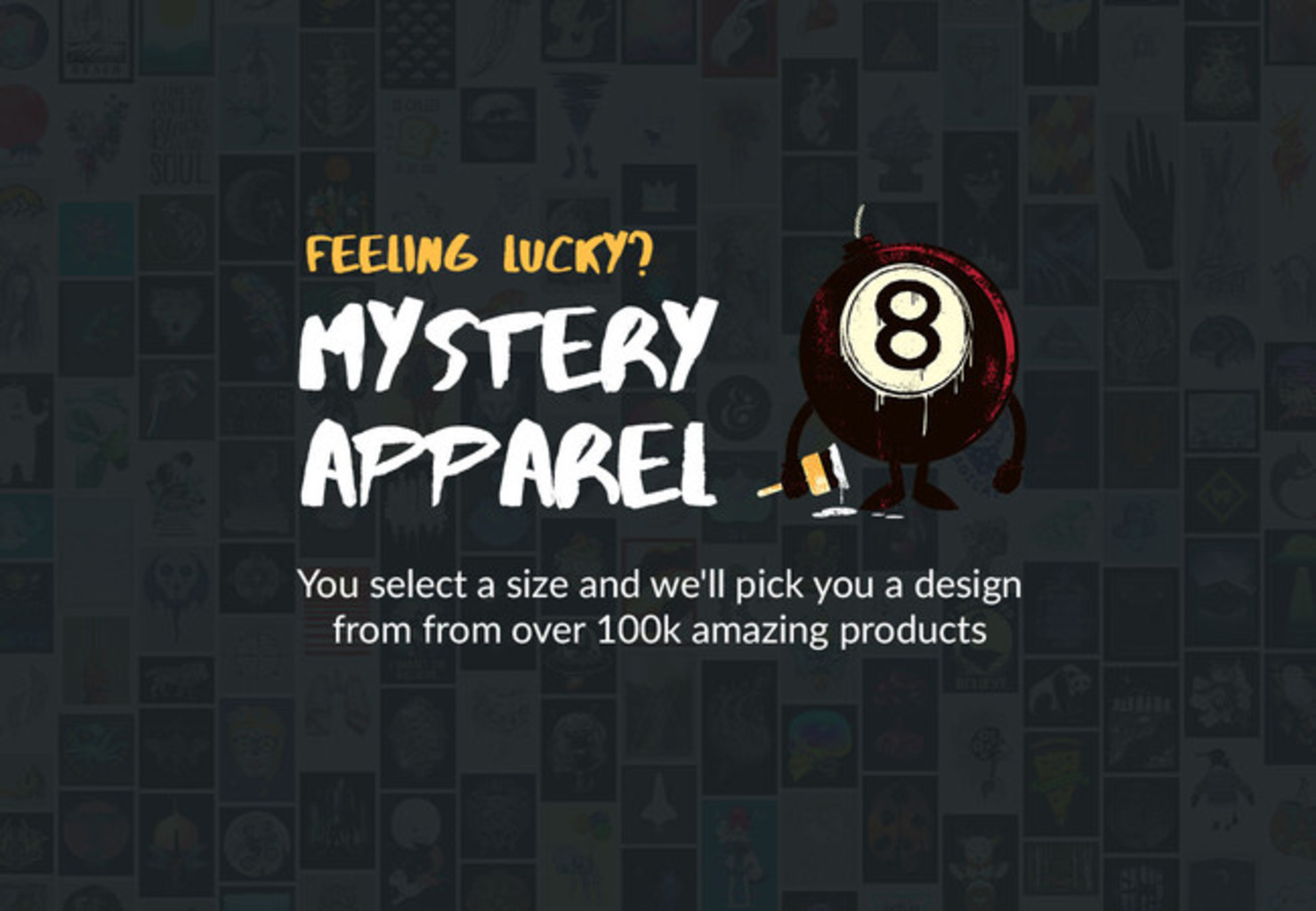 Design by Humans: DBH Mystery Apparel