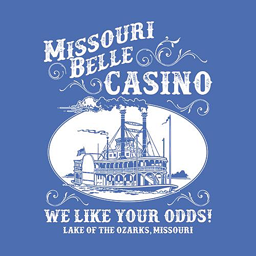 Five Finger Tees: Missouri Belle Casino T-Shirt