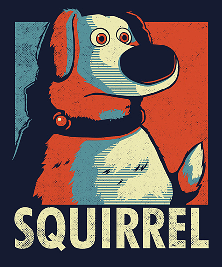 Qwertee: SQUIRREL