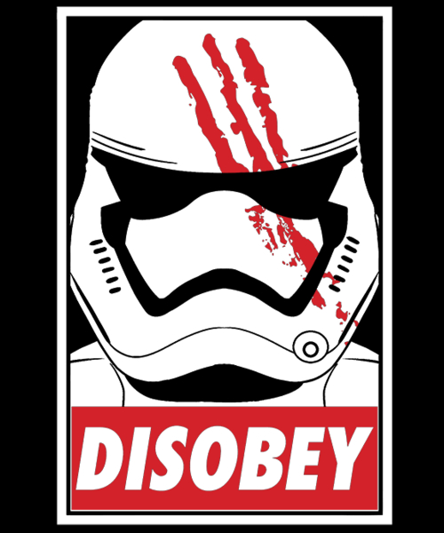 Qwertee: Disobey