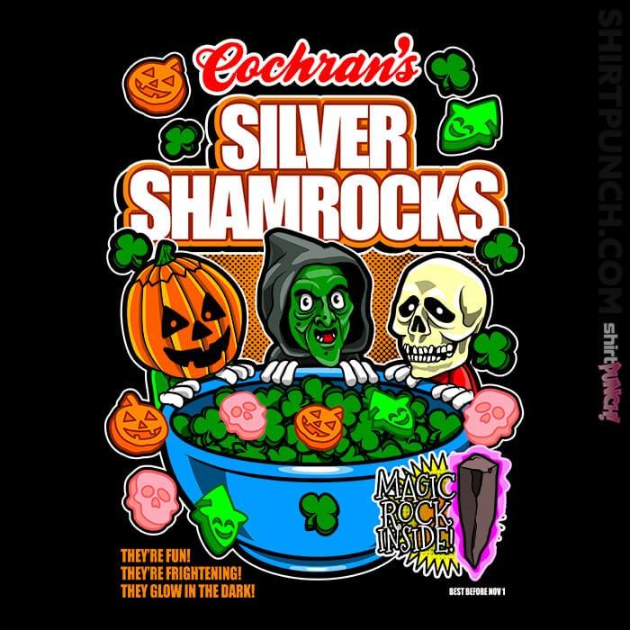 ShirtPunch: Silver Shamrocks