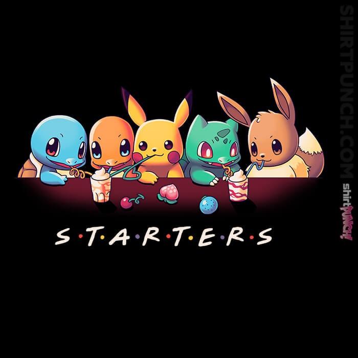 ShirtPunch: Starter Friends
