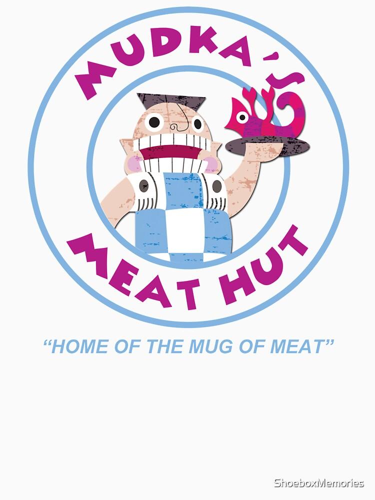 RedBubble: Mudka's Meat Hut Logo