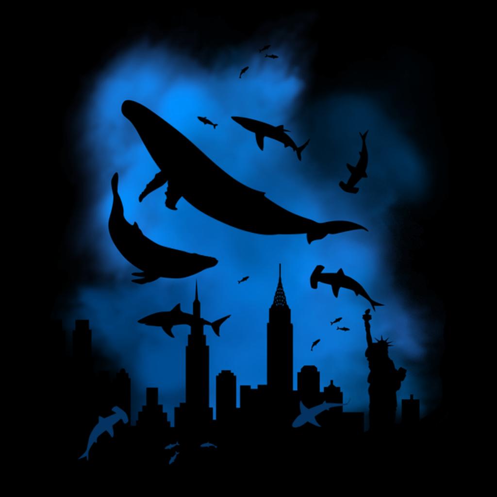 NeatoShop: New York flooded