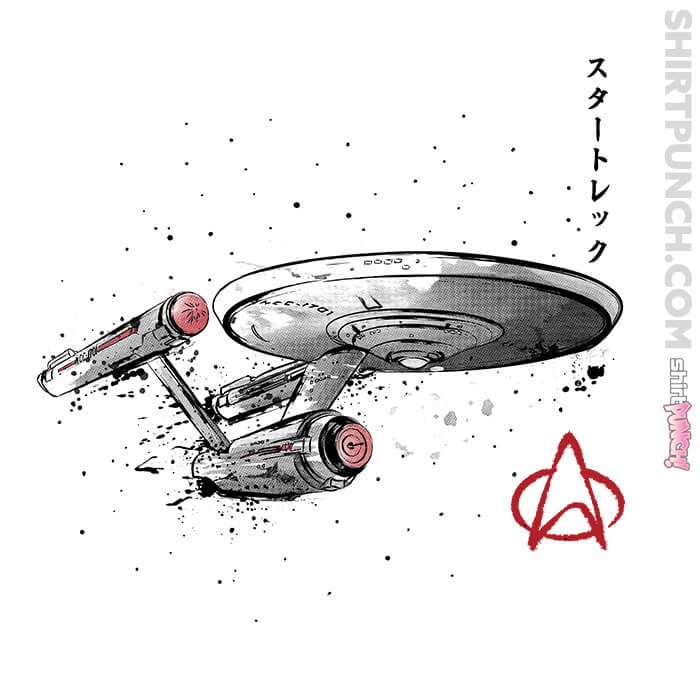 ShirtPunch: USS Enterprise NCC-1701