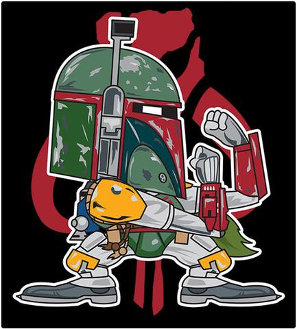 Shirt Battle: Fett
