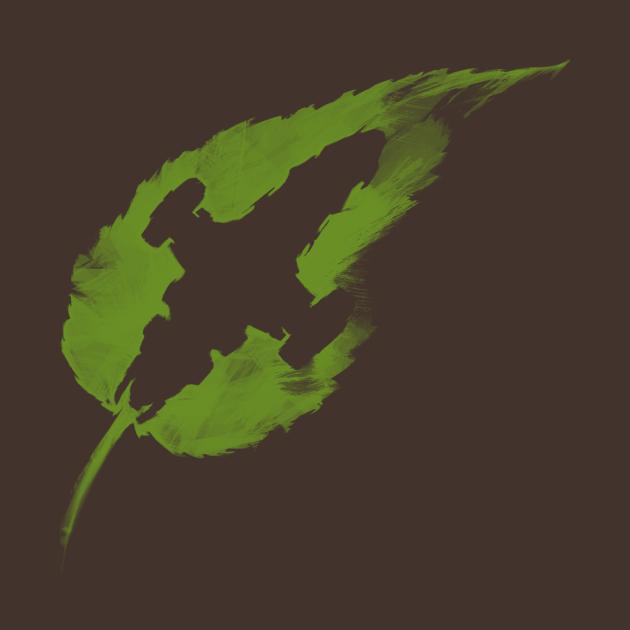 TeePublic: Leaf on the Wind