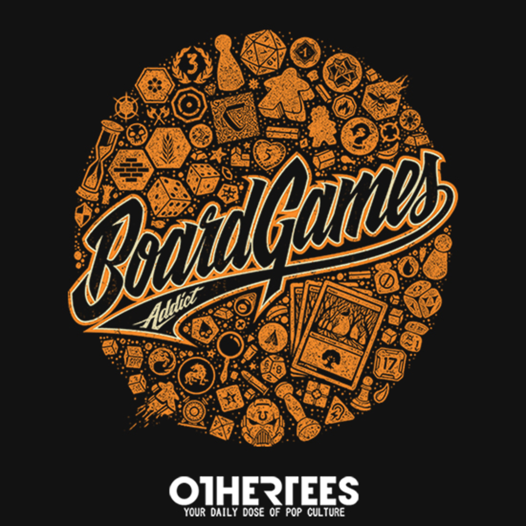 OtherTees: Board Games Addict