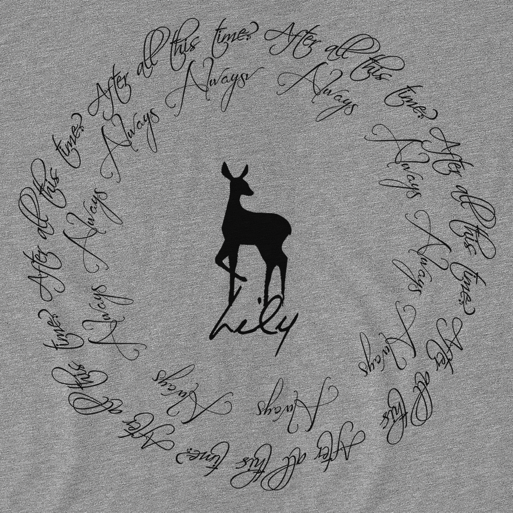 Pop-Up Tee: After All This Time - Lily