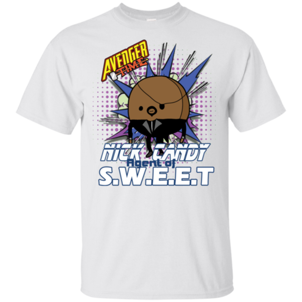 Pop-Up Tee: Avenger Time Nick Candy