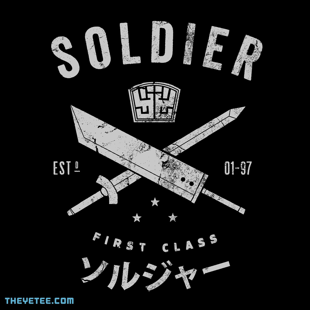 The Yetee: SOLDIER: FIRST CLASS