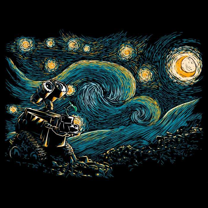 Once Upon a Tee: Starry Robot