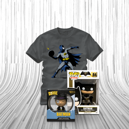 ShirtPunch: Batman vs The Penguin Bundle