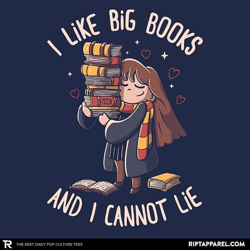 Ript: I Like Big Books And I Cannot Lie