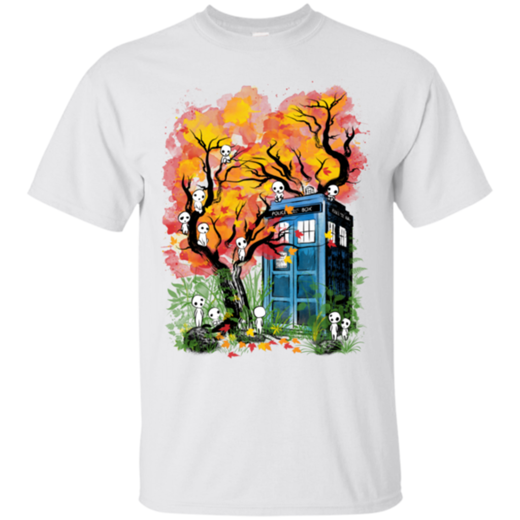 Pop-Up Tee: The Doctor in the Forest