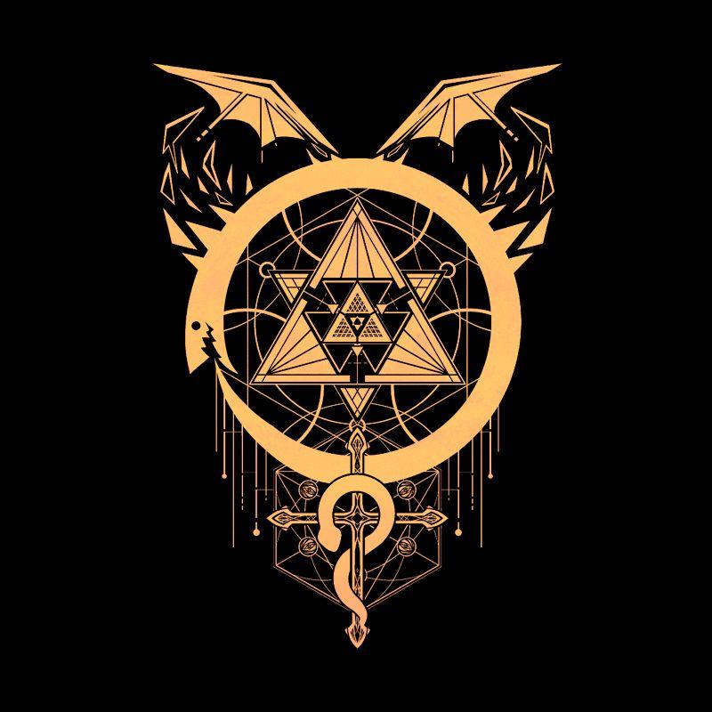 Pampling: Gilded Snakes of Alchemy
