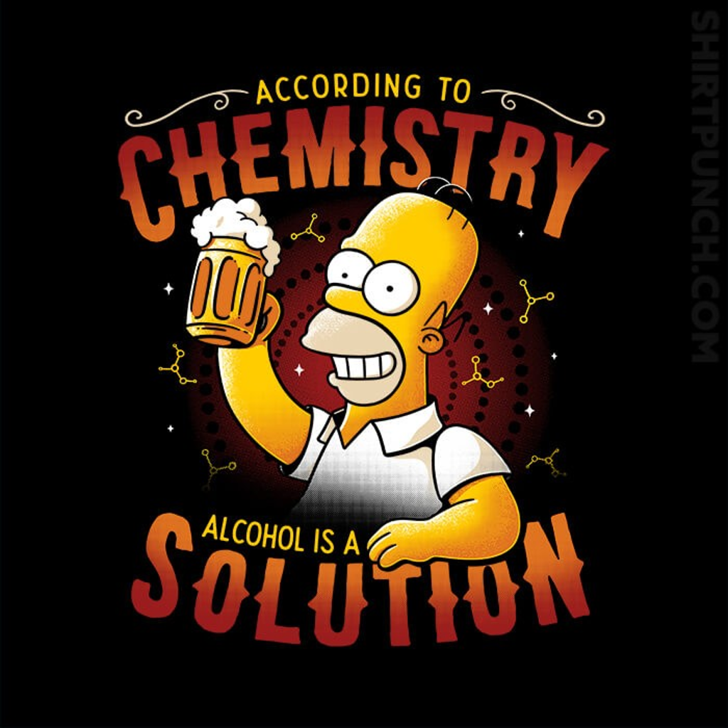 ShirtPunch: Alcohol Is A Solution