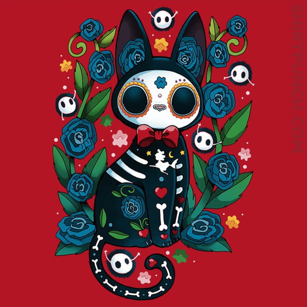 ShirtPunch: Calavera Cat