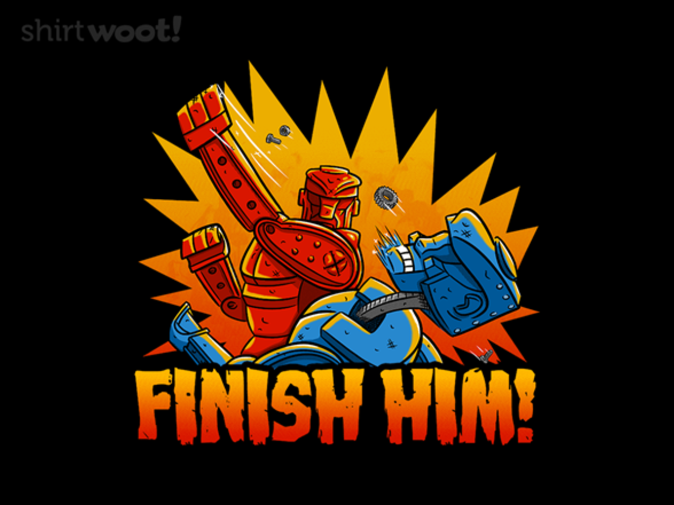 Woot!: Finish Him!