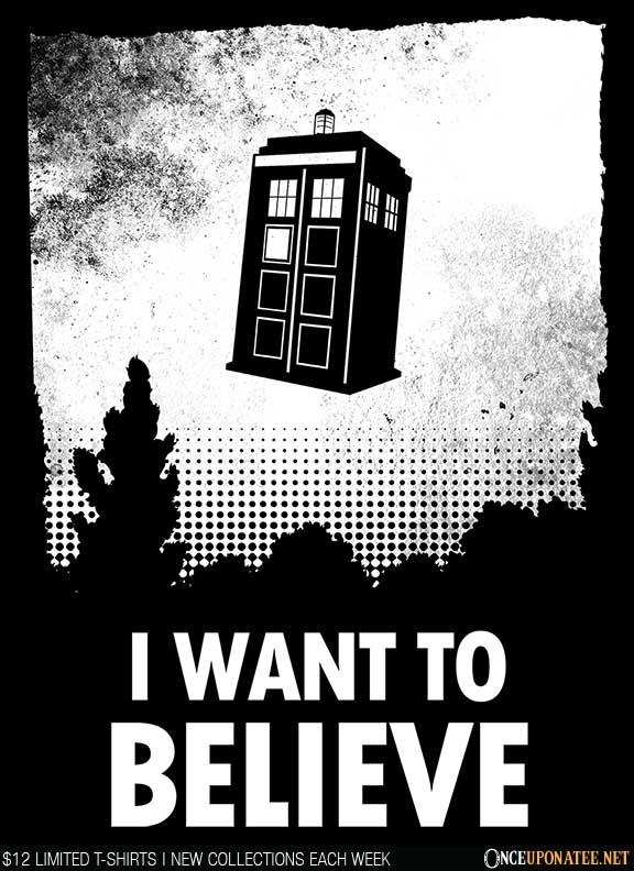 Once Upon a Tee: I Want to Believe