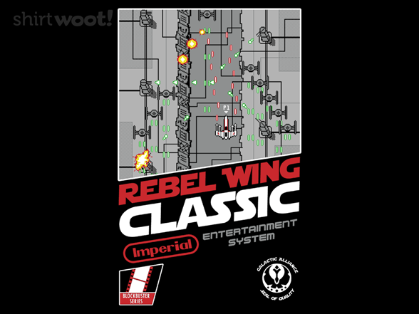 Woot!: Rebel Wing Classic - $8.00 + $5 standard shipping