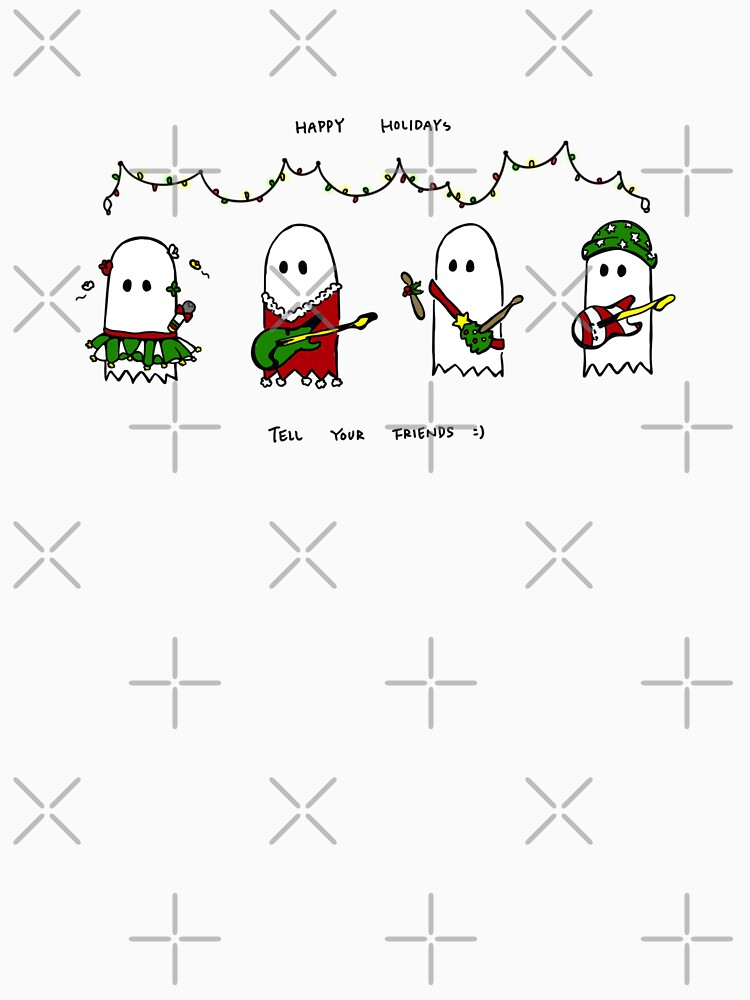 RedBubble: Holiday Ghosties