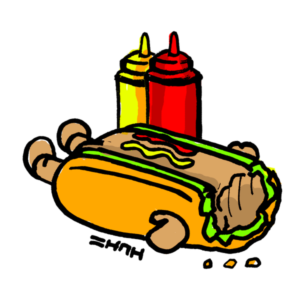 NeatoShop: Eating Dancing Hotdog