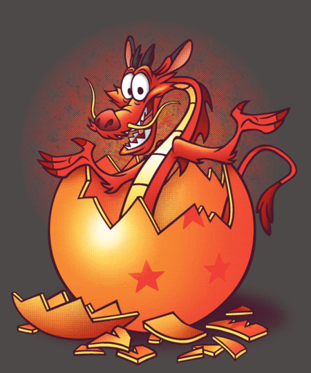 Qwertee: Dragon surprise