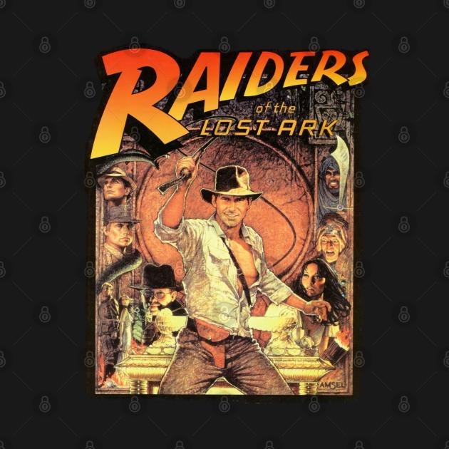 TeePublic: Indiana Jones Raiders of the Lost Ark