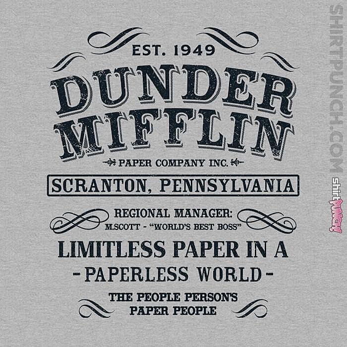 ShirtPunch: Limitless Paper