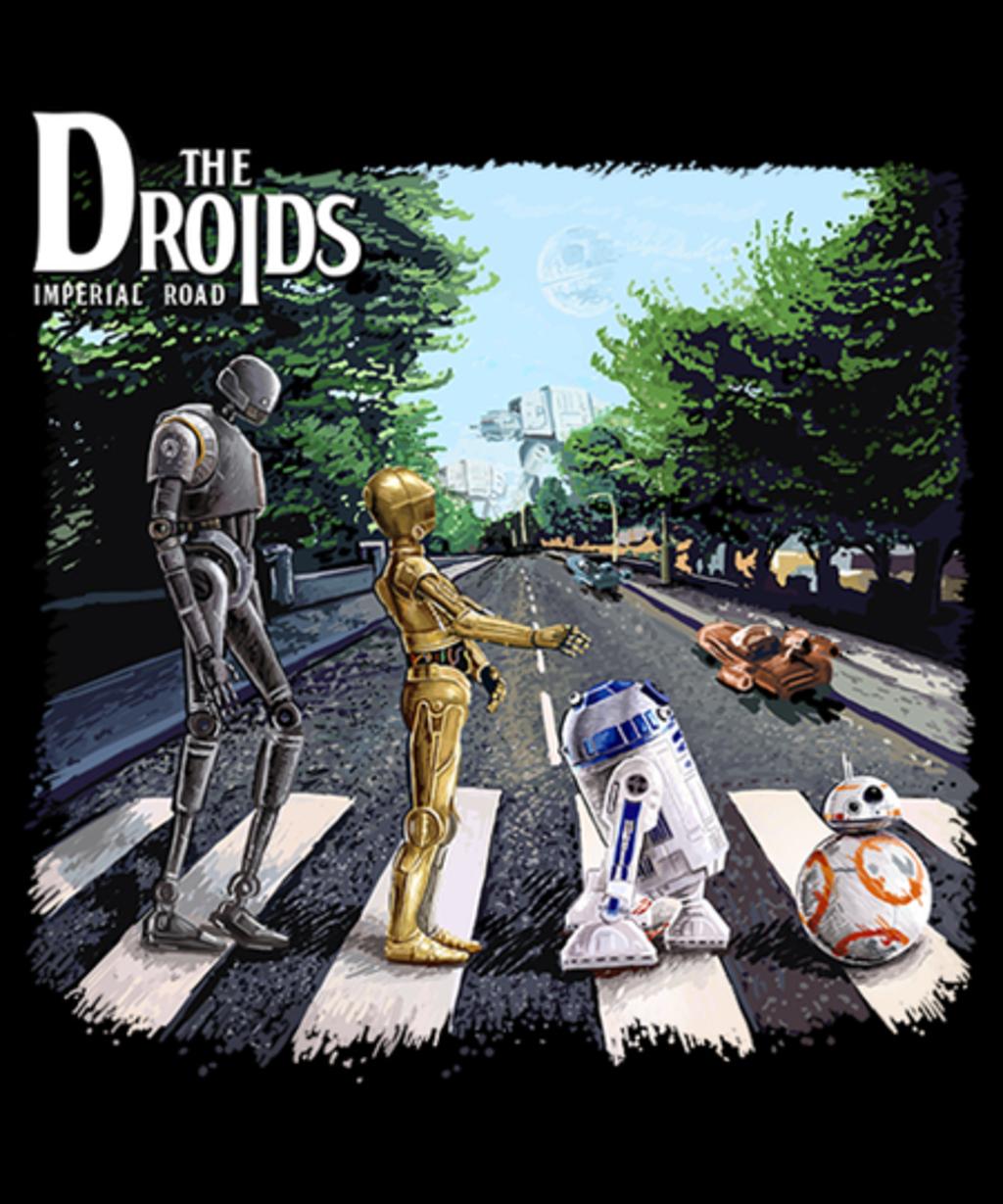 Qwertee: Droids
