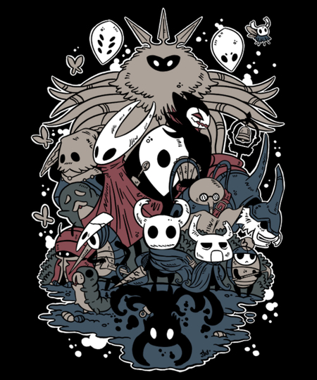 Qwertee: Hollow Party