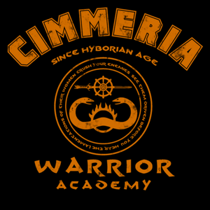 Pop-Up Tee: Cimmeria Warrior Academy