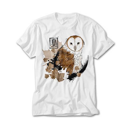 OtherTees: Barn Owl