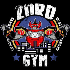 Once Upon a Tee: Zord Gym