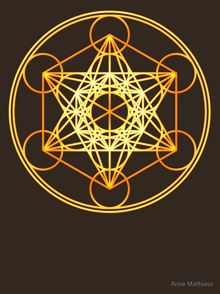 RedBubble: Metatrons Cube, Flower of life, Sacred Geometry