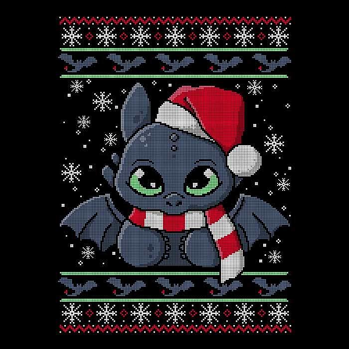 Once Upon a Tee: Dragon Christmas